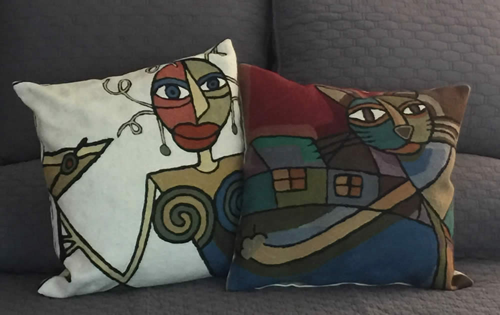 Picasso Pillow Talk
