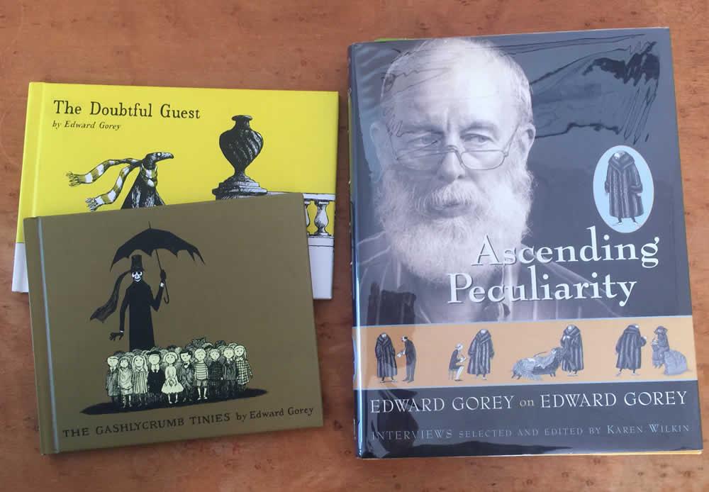 Book by & about Edward Gorey