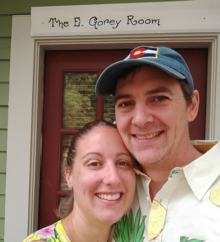 Newlyweds at Wood Hamlet
