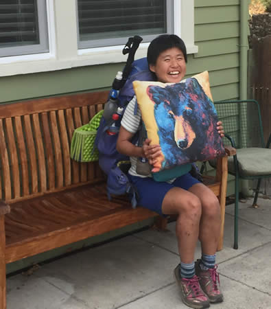 PCT Hiker Welcome in Ashland