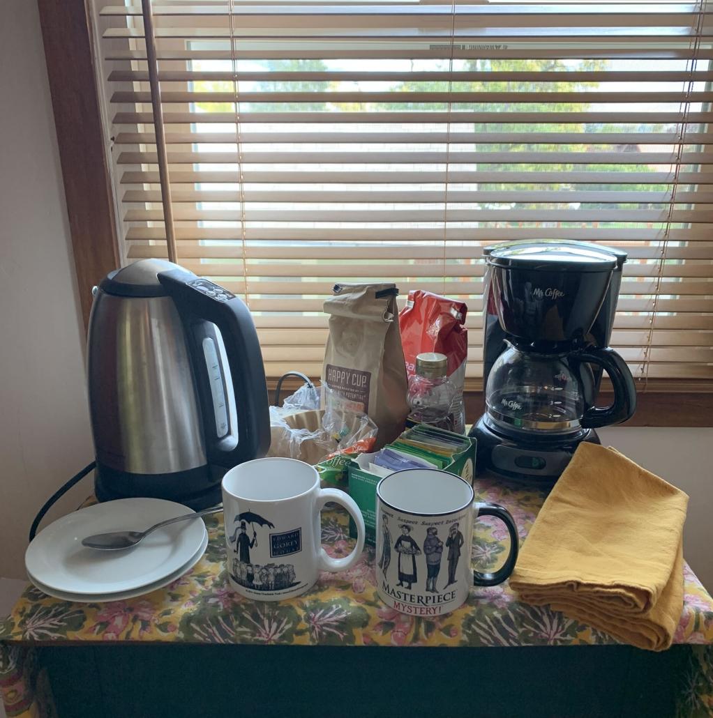 Coffee or Tea with Edward Gorey
