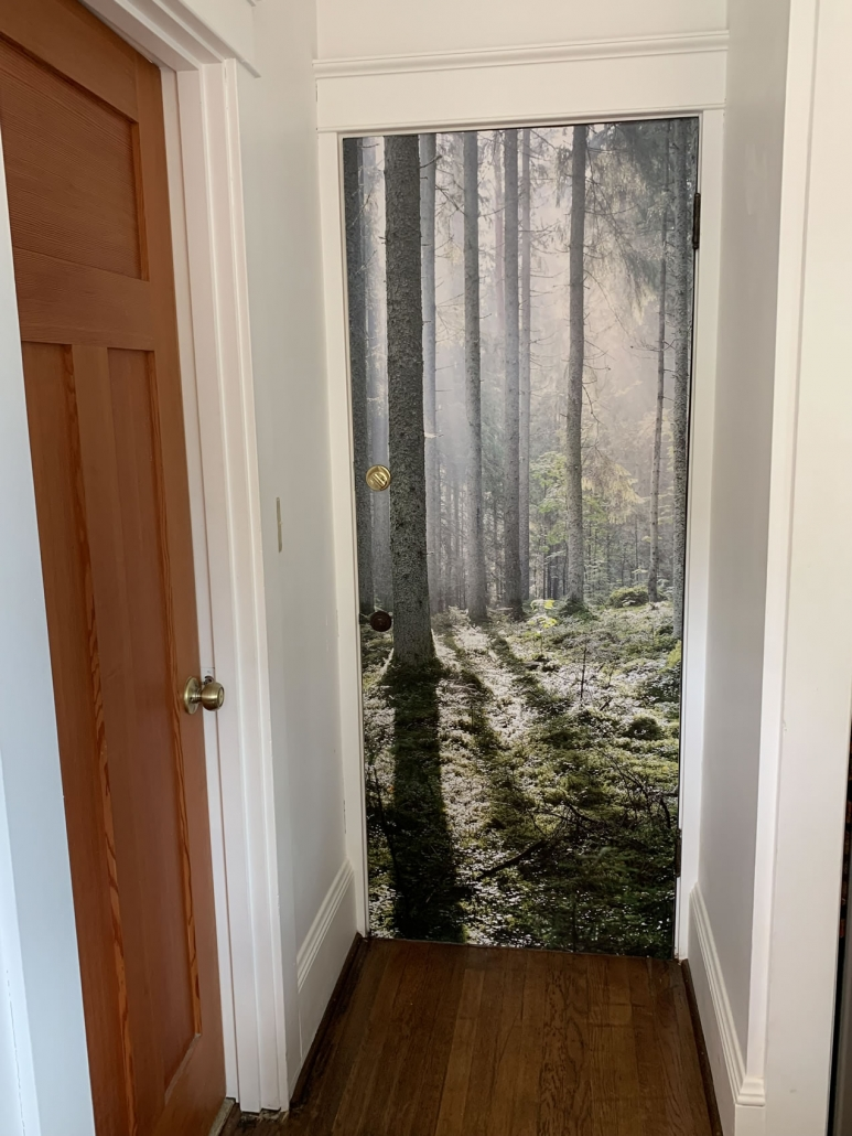 Forest Mural at Wood Hamlet Ashland, OR